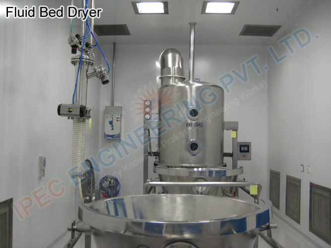 Auto Coater Rotocone Vacuum Dryer Fluid Bed Dryer Multi